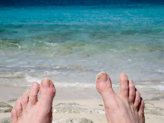 Toes And The Ocean