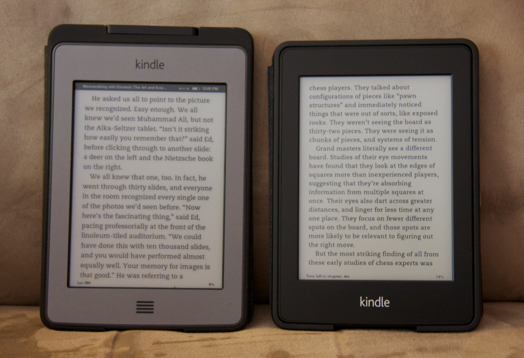 SteveX Compiled » Blog Archive » Kindle Paperwhite Illumination